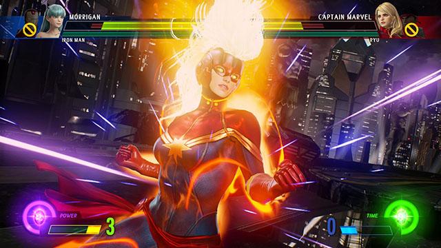 Marvel vs. Capcom: Infinite – CAPTAIN MARVEL Tutorial