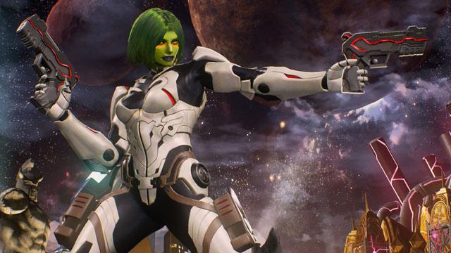 Marvel vs. Capcom: Infinite – GAMORA Tutorial