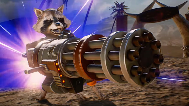Marvel vs. Capcom: Infinite – ROCKET RACCOON Tutorial