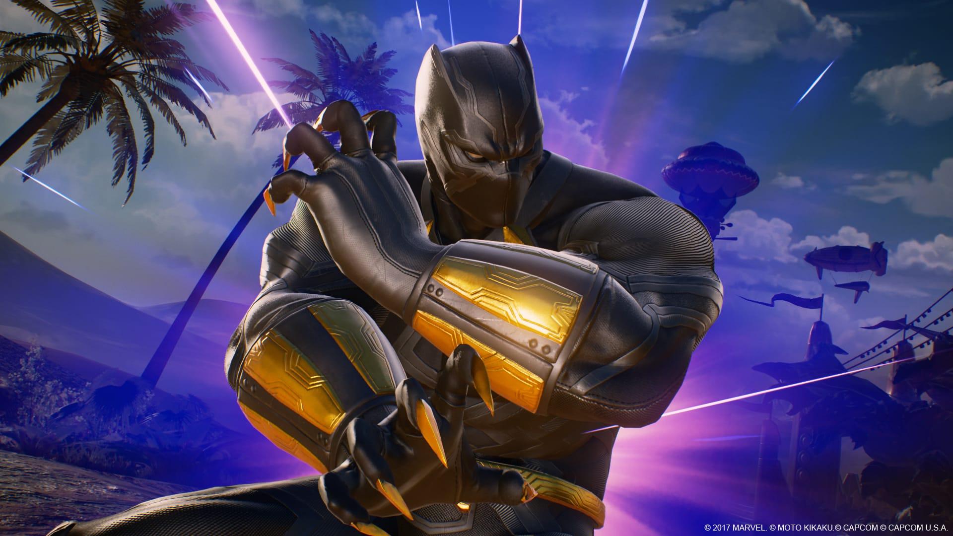 Marvel vs. Capcom: Infinite – BLACK PANTHER Tutorial